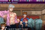 Dibujos animados gay juego polla chupando