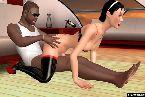 Sexo interracial entre dos jugadores en linea del sexo en vivo
