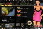 Flash juegos con noche caliente rosa vestido de chica caliente