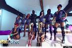 Las ninas kinky usar uniformes de mujer policia con esposas
