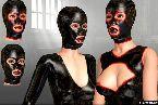 Trajes de sexo y latex de mascara goma en bdsm juegos