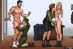 Cachondas chicas para placer de sus clientes