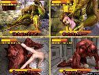 Monstruos follando hentai chicas en juegos porno manga