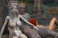 MMORPG sexo en el mundo similar a Skyrim